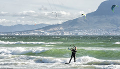 (Rob Millenaar) Tags: southafrica capetown bloubergstrand dolphinbeach kitesurfing