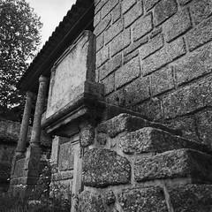 The pulpit (lebre.jaime) Tags: portugal beira covilhã ourladyofthecalvary chapel hasselblad 503cx distagon cf4050fle analogic film120 film 120 6x6 squareformat mf middleformat kodak portra160 blackwhite bw noiretblanc pb pretobranco ptbw v600 epson affinity affinityphoto