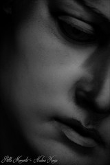 LOST (darkangel1910) Tags: staglieno monumentale cimitero genova genua bella italia italy italien italienisch italienliebe cemeteries cemetery cimetière campo santo silenzio schwarzundweis blackandwhite friedhof fotografie love liebe leidenschaft liebezurfotografie photography passion photo pictures pastdays erinnerung erinnerungenfesthalten europa europe friedhöfe forthelovetothedetail face gesicht stille momente statue silent moments morte arte art ausdemherzenfotografiert abschied graveyard gothic grabmal grabstätte gedenksteine grabmäler gravestones gottesacker gruftenhalle grab grief gruftengang grabstein goodbye gedanken vergänglichkeit vermissen verzweiflung sommerurlaub trauer tomba tombe begraafplaats bildhauerkunst beautiful