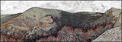 BESHTEL RAVINE (CrimeanArtist) Tags: крым crimea crimean дружное балка джафер cafer jafer berdi берды берди долгоруковка долгоруковская яйла suvbatqan ущелье крымский горный пейзаж рисунок графика mountainscape rocks stones гора горы скала скалы montaña montanha montagne berg dağ dağlar kayalar góra hora планина rockformation crag панорама tauric tauri ταύροι scythian panorama panoramic суботхан субаткан сувбаткъан биштель бешиль бишель bishtel cave qoba scythia settlement скиф скифы скифия тавр тавры тавроскифы тавроскифия кизилкбинцы drawing пастель pastel crayons color pencils карандаш ngc mountainsketch
