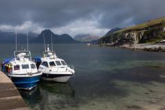 Elgol (Earthman.) Tags: elgol isleofskye boat boats sea sky scotland uk earthman x100t fuji landscape seascape skye