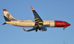 Norwegian EI-FVZ, OSL ENGM Gardermoen. (Inger Bjørndal Foss) Tags: eifvz norwegian boeing 737 osl engm gardermoen