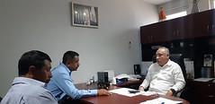 Con el presidente de Cuyamecalco Villa de Zaragoza, Juan Cruz Zaragoza nuestro coordinador Heliodoro_hcde trabaja para reforzar acciones en materia de Protección Civil