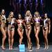 Bikini Masters 6th # 36 White 4th #31 Jones 2nd #35 Rodriguez 1st #34 Roberts 3rd #32 Dziver 5th#27 Jivraj
