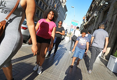 Beautiful Barcelona Family (kirstiecat) Tags: barcelona spain espana familia family kids parents mom mother light shadows street canada europe architecture beautiful streetstyle catalonia cataluna