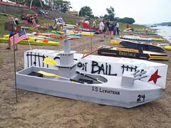OH New Richmond - Cardboard Boat Regatta (scottamus) Tags: newrichmond ohio clermontcounty fair festival event cardboardboatregatta ohioriver