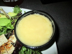 Lemon Vinaigrette Dressing for Cobb Salad at Ithaca Ale House (Autistic Reality) Tags: ithacaalehouse ithaca alehouse ale house food tompkinscounty upstatenewyork stateofnewyork newyork fingerlakesregion centralnewyork southerntier usa us america unitedstatesofamerica unitedstates fingerlakes ny cny upstateny centralny restaurant interior inside indoors architecture building structure 2019