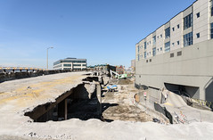 Remains of the viaduct at Lenora Street (WSDOT) Tags: seattle gp construction wsdot alaskan way viaduct replacement demolition 2019