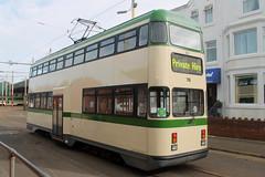 Trams: Blackpool Transport: 718 (emdjt42) Tags: tram blackpooltransport blackpool 718