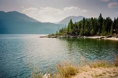 Kootenay Lake B.C. 2018. (Roger Wojahn) Tags: color film portra400 kodak contaxtvsiii roadtrip canada bc travel landscape