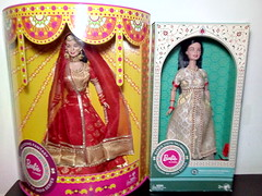 Colors of India Series of Barbies (PolynesianSky) Tags: colors colours india barbie series wedding fantasy visits taj mahal mattel mumbai 2018 dolls world doll