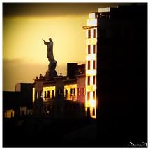 """El Santón"" (Jaime Martin Fotografia) Tags: gijon arquitectura sunset cristo"