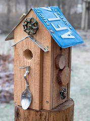 PC160024 (bvriesem) Tags: bird house birdhouse craft wood carpentry