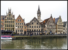 Paseando por Bélgica (edomingo) Tags: edomingoolympusomdem5 mzuiko1240 belgica arquitectura gante ríolys