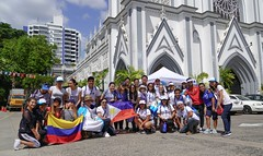 Acogida de Peregrinos en la Iglesia Del Carmen