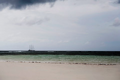 ...this weather is not what we booked... (helmet13) Tags: d700 raw seychelles beach sand indianocean sailboat sailer simplicity silence storm tropical tropicalisland darkclouds travel threemaster lowtide aoi peaceaward world100f stanneresort