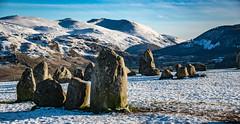 Castlerigg Stone Circle (DJNanartist) Tags: nikond750 nikon28300mm lakedistrict anartist snow frozen bowderstone borrowdale skiddaw castlerigg
