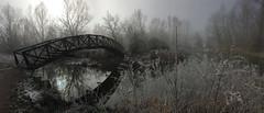 Bridge over the Yare - UEA in Norwich (John D Fielding) Tags: uea bridge river yare norwich norfolk winter cold