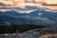 View from Cascade Mountain, Adirondacks (RyanKirschnerImages) Tags: mountains cascademountain adk adirondacks ny newyork winter sunset sunrise landscape