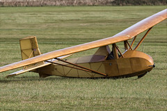 Slingsby Falcon 1 - 05 (NickJ 1972) Tags: shuttleworth collection oldwarden race day airshow 2018 aviation slingsby falcon 1 bga3166 replica