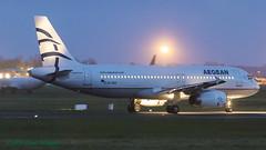 SXDGK A320 Aegean (Anhedral) Tags: einn snn shannonairport airliner airplane jet sxdgk airbus airbusindustrie aee aegeanairways