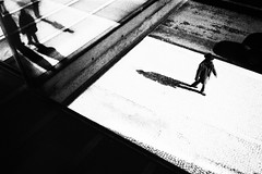 Worlds Apart (rui emanuel correia) Tags: worlds apart lisboa rui correia bw black white street mood analogue film ilford 35mm project portugal