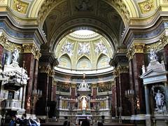 BUDAPEST - LA BASILICA DE SAN ESTEBAN (INTERIOR) (mflinera) Tags: budapest hungria basilica de san esteban iglesia arquitectura