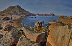 Cala  del Cuervo. (ZAPIGATA) Tags: cabodegata almeria andalucia nijar landscape waterscape water paisaje playa panoramica mar sea zapigata