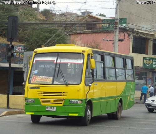 1995 Caio Carolina V / Mercedes Benz LO 809/42 5 / Asociación Buses