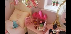 Miniature Doll House (mellsdolls) Tags: blythe dollhouse miniature blythedolldress dolldress handmadedolldress sallyrice rement