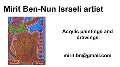 Mirit Ben-Nun by the artistic woman influence art language art solo at gallery exhibitis  borders (female art work) Tags: material no borders rules by artist strong from language influence center art participates exhibition leading powerful model diferent special new world talented virtual gallery muse country outside solo group leader subject vision image drawing museum painting paintings drawings colors sale woman women female feminine draw paint creative decorative figurative studio facebook pinterest flicker galleries power body couple exhibit classic original famous style israel israeli mirit ben nun