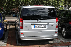 Ukraine (Lviv) - Mercedes-Benz Viano CDI 2.2 (PrincepsLS) Tags: ukraine ukrainian license plate germany berlin spotting bc lviv mercedesbenz viano cdi 22