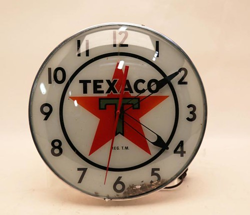 Texaco Wall Clock ($291.20)