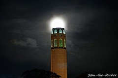 Coit Tower Viewed from North Beach - 032019 - 02 (Stan-the-Rocker) Tags: stantherocker sony ilce sanfrancisco coittower telegraphhill northbeach street sigma18300