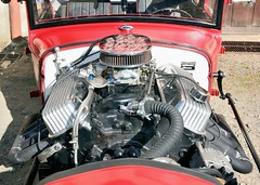 Citroën, AC4 Hot-Rod (Cletus Awreetus) Tags: citroën ac4 c4 hotrod moteur