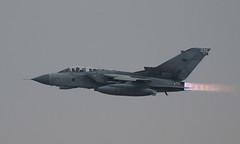 Reheat (Treflyn) Tags: royal air force panavia tornado gr4 za542 035 call sign tornado96 full afterburner departure raf marham take part nine ship formation flypast reheat