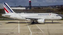 Air France Airbus A319 F-GRXM Paris (CDG/LFPG) (Aiel) Tags: airfrance airbus a319 fgrxm paris canon60d tamron18400
