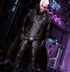 Cyber City (Migan Forder) Tags: male hero cyber fantasy scifi