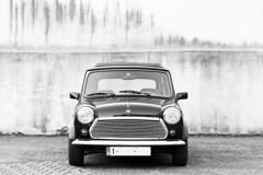 Mini Classic (standrew warhola) Tags: select canoneos7d ef50mmf14usm ƒ28 500mm 1125sec 200iso miniclassic blackandwhite blackwhite classiccar