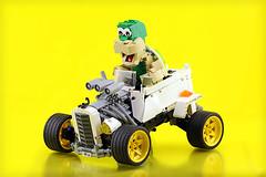 Tortoise racer (Frost Bricks) Tags: lego technic rc racer tortoise hare hotrod remote control racecar