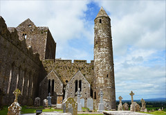 Remembrance of things past (angelsgermain) Tags: archaeology ruins medievalarchitecture celticart buildings stone religion church cathedral arches roundtower graveyard tombs highcrosses hill rockofcashel carraigphádraig cotipperary ireland éire