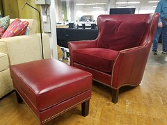 Edinburgh Wingback Chair (Brian's Furniture) Tags: norwalk furniture market 2019 spring brians westlake ohio 44145 westside cleveland premarket high quality american made lifetime warranty springs frame cushion core unlimited choices options customizable rocky river bay village upholstered built order locally shop local usa edinburgh wingback chair