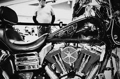 GR007648-Edit-2 (alhawley) Tags: american americanabstract americana usa biker blackandwhite candid everytownusa grain gritty harleydavidson highcontrast monochrome ricoh ricohgrii street streetphotography