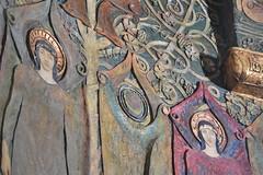 Chapel Decorations (PLawston) Tags: uk britain england surrey north downs compton watts chapel angels