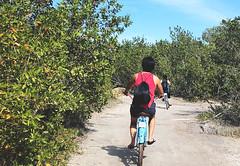 181227 Goodbye, my flipflop. (Fob) Tags: december 2018 travel trip mexico islaholbox holbox lázarocárdenas puntacocobeach quintanaroo me bicycle people