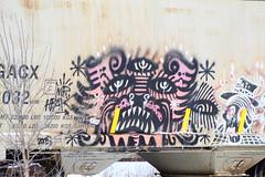 (recekasten) Tags: cn railroad ns signals wisconsin neenah medina junction 446 zebra beast eje bnsf