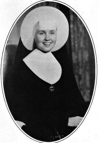 Sister Mary Bernardine, CSC high school educator with the