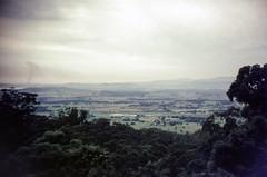 View towards Port Kembla (oz_lightning) Tags: 35mmfilmcamera agfact18 australia canonpixmamg8150 dumbarton filmscan halinasuper35x wollongong film landscape nature scan slide unanderra newsouthwales aus