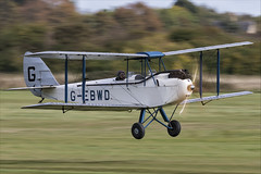 De Havilland DH.60X Hermes Moth - 01 (NickJ 1972) Tags: shuttleworth collection oldwarden race day airshow 2018 aviation dehavilland dh60 hermes moth gebwd