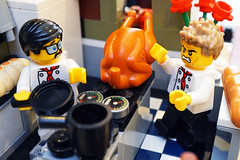 Meltdown in Hell's Kitchen (Gary Burke.) Tags: hellskitchen cook chef kitchen meltdown mad angry gordonramsay realitytv show program tvshow contest cooking cheframsay television cookingshow contestant celebrity televisionpersonality legofigures minifigures toy legominifigures toys toyphotography legophotography legobricks sony a6300 mirrorless sonya6300 macro lego parisianrestaurant working job work longexposure worker uniform legocreator legocreatorexpert lego10243 redteam scared afraid